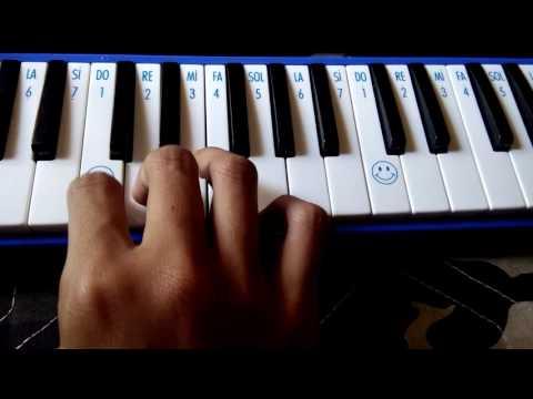 Not angka pianika lagu armada - asal kau bahagia.