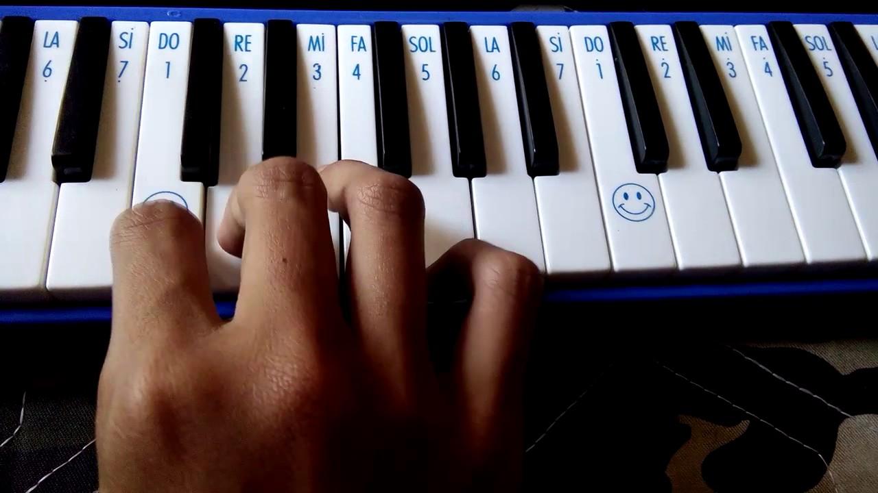 Not Angka Pianika Lagu Armada Asal Kau Bahagia Youtube