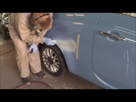 CarDoc Cornwall – Fiat 500 dent repair Feb 2016