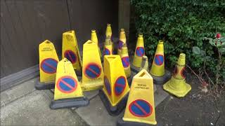 My Traffic Cone collection. (Plus Some Barricades and Signs)