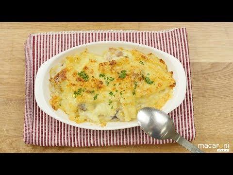 基本のレシピチーズがトロッ 濃厚 マカロニ グラタンの レシピ 作り方