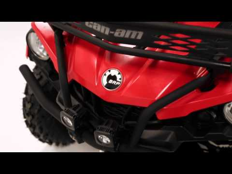 Bumpers And Rack Extension For Can-Am Outlander L ATVs