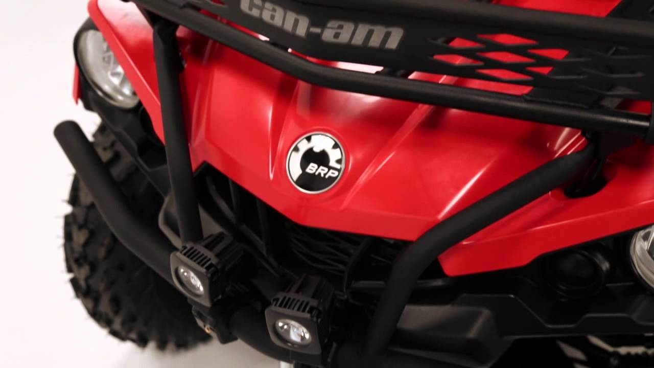 Can Am Outlander Max 2018 >> Bumpers and Rack Extension for Can-Am Outlander L ATVs - YouTube