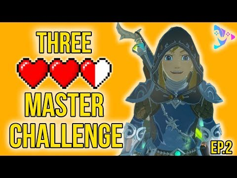 The Legend of Zelda: Breath of the Wild | Three Heart Master Time Trial| Episode 2