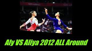 Aly Raisman VS Aliya Mustafina 2012 All Around Rematch(Code of points 2017-21)