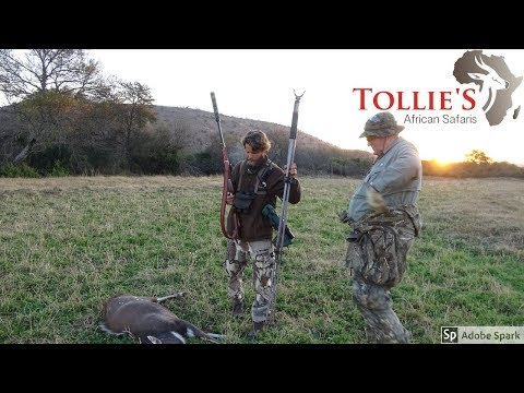 Hunting In Africa, Bushbuck With Jimmy Klentzman At Tollies African Safaris