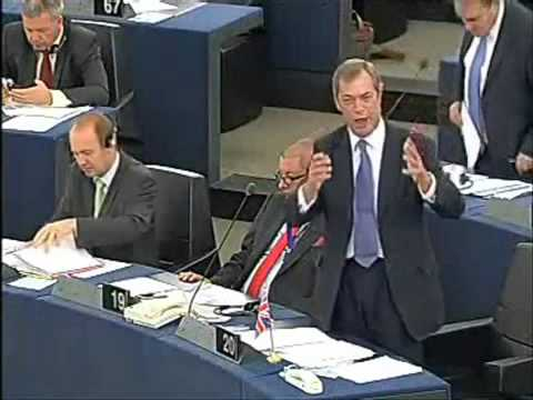 Nigel Farage Gives His Idea of the State of the Euro Union