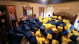 CRAZY INDOOR FOAM PIT PRANK! by : Tanner Braungardt