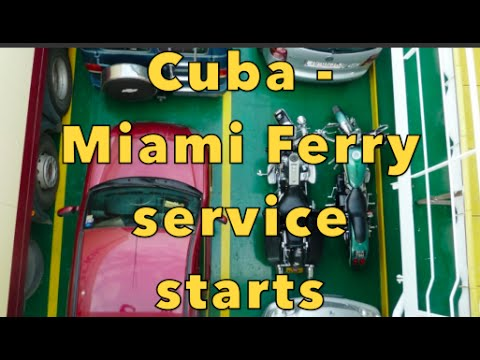 Miami to Havana CUBA Ferry Service Starts! and Florida Keys
