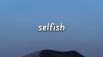Madison Beer - Selfish (Lyrics)