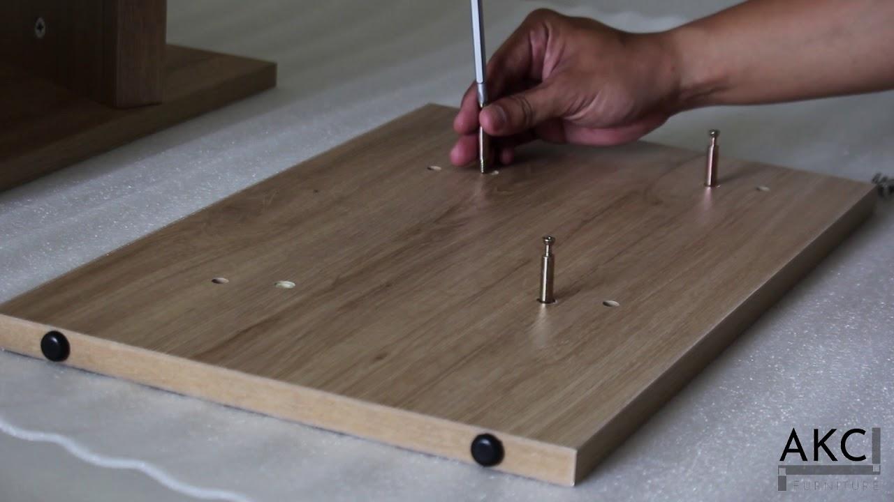 Hướng Dẫn Cách Lắp Ráp Kệ Gỗ Để Giày 2 Tầng AKC Furniture – PN: 80043