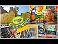 CRAYOLA EXPERIENCE | TOUR CRAYONS ART, COLOR MAGIC - Fun KIDS Place to VISIT in Easton, Pennsylvania