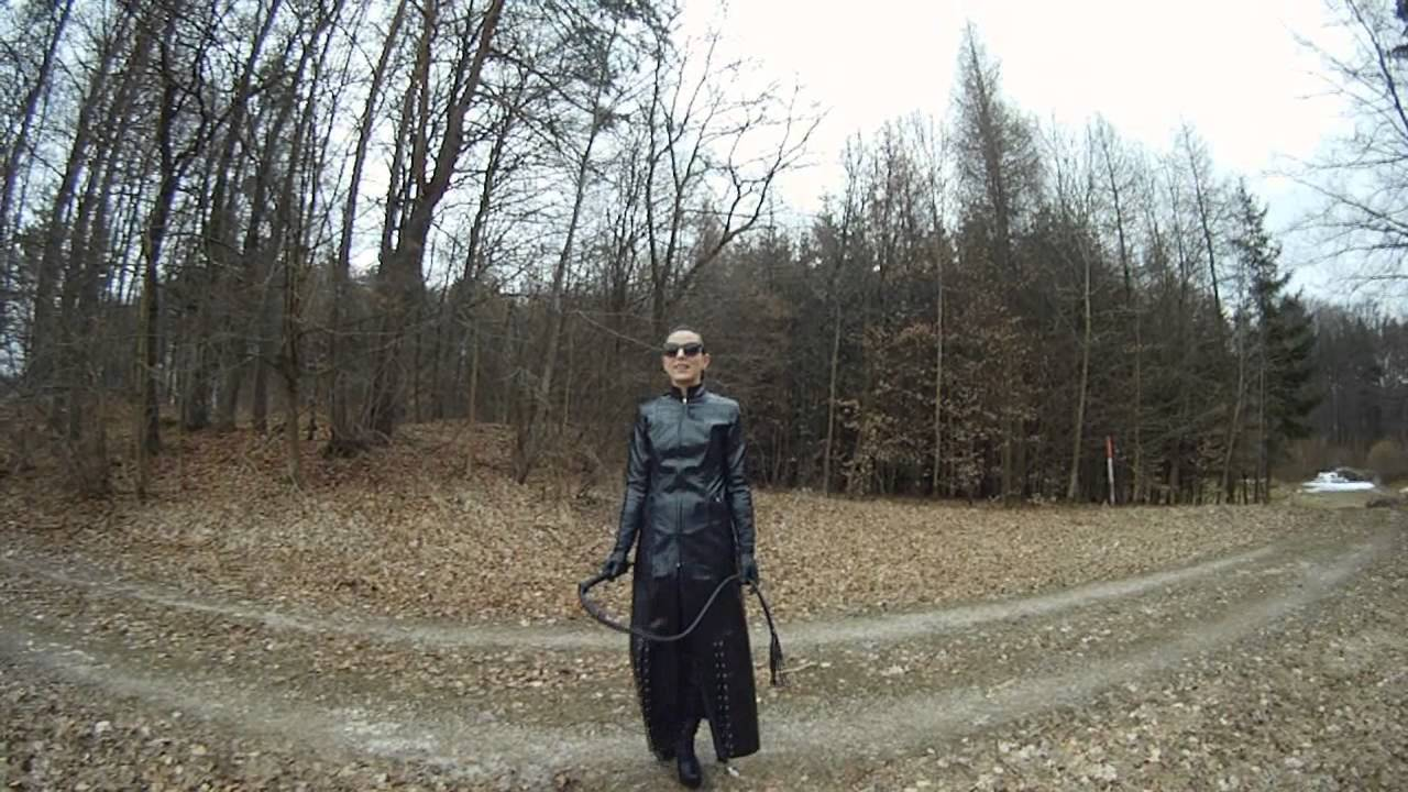 Leather Dominatrix Diva Zarah Clip / Mistress Germany - YouTube