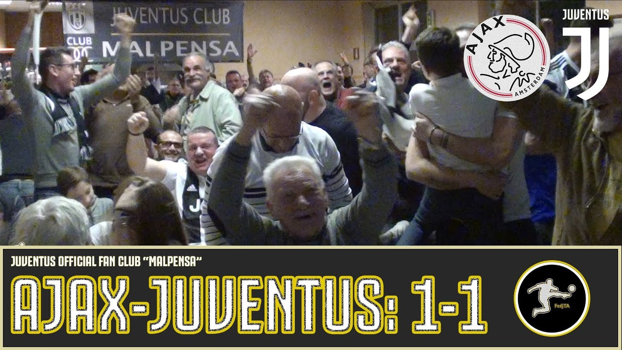 Ajax-Juventus: 1-1 |Live Reaction| - JOFC MALPENSA