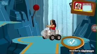 Думсдэй и женщина кошка.Лего Бэтмен гонки #3
