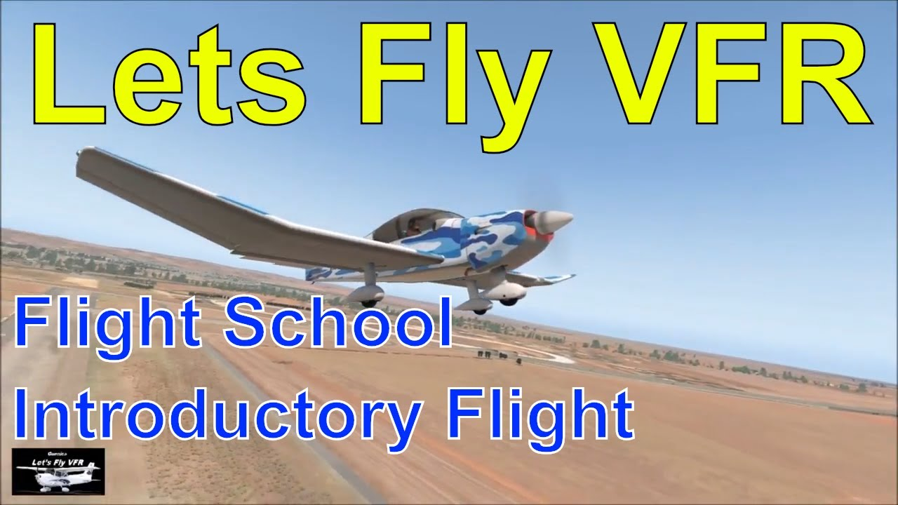 FREE STUFF | Lets Fly VFR - Flight Simulation