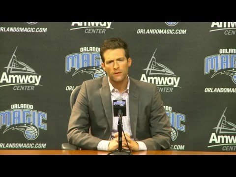 Orlando Magic GM Rob Hennigan on resignation of Scott Skiles