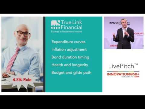 2017 AARP Innovation@50+ LivePitch: True Link Startup Pitch (Financial Technology)