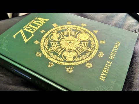 Art Book Review - The Legend Of Zelda Hyrule Historia