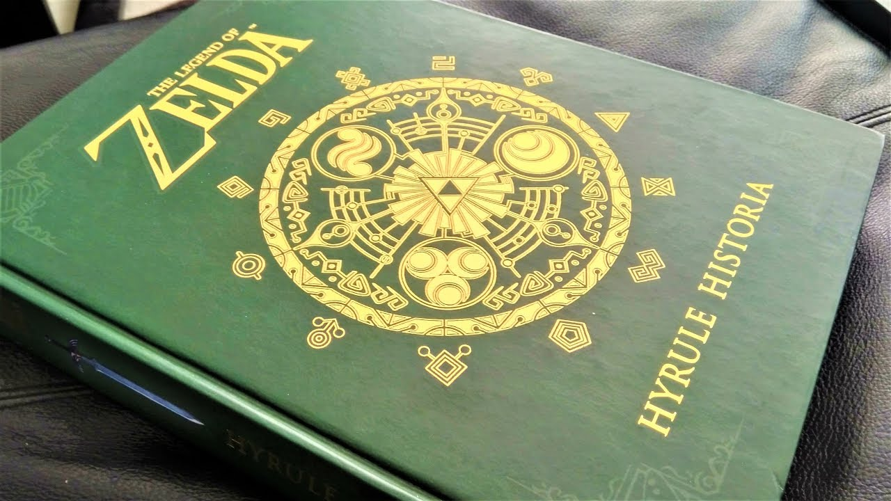 Art Book Review The Legend Of Zelda Hyrule Historia Youtube