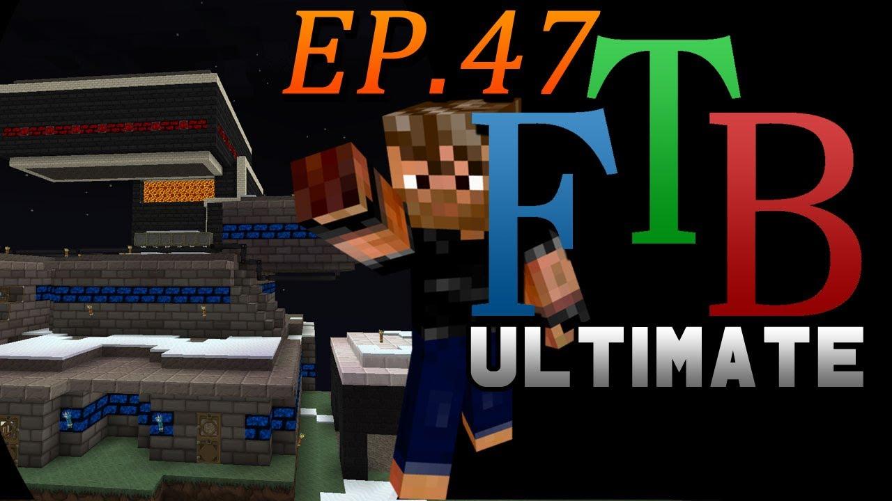 Industrial Grinder Ftb Ultimate Skyblock Ep 47 Youtube