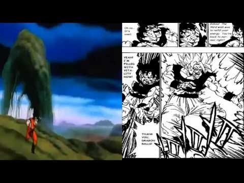 Major Dragon Ball Z Anime & Manga Differences #1