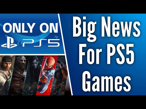 Credible Insider Reveals Big News For PS5 Exclusives // Mid-Gen PS5 Pro Sounds Likely