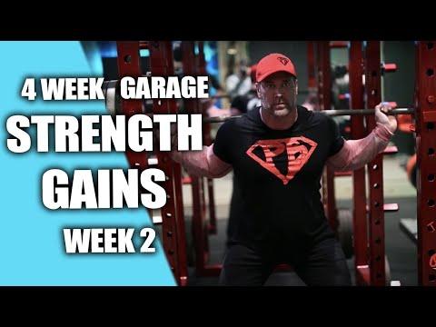Week 2 Workout 1 | 4 Week Garage Strength Gains| Mike O'Hearn And Heath Evans