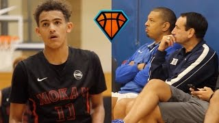 Trae Young LIGHTS UP Peach Jam In Front Of Coach K!! | OFFICIAL Mixtape Vol. 1 thumbnail