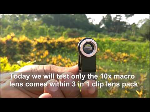Universal 3 in 1 Mobile Lens for Macro Photography Source Of Product