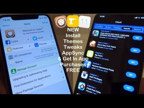 NEW Install Themes, Tweaks, AppSync & Get In App Purchases FREE iOS 11 - 11.3.1 iPhone iPad iPod