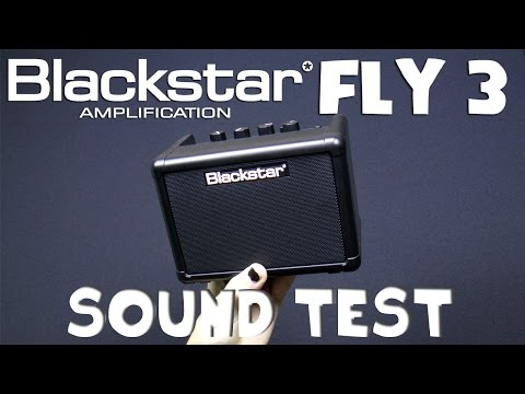 Blackstar Fly 3 mini amp sound test - Neogeofanatic