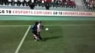 Larsson and Evra Kissing FIFA 12
