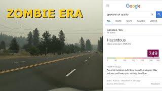 Fire Smoke in Spokane WA