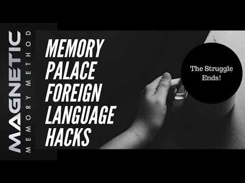 Memory Palace Foreign Language Hacks