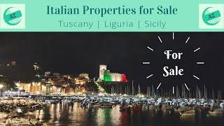 Properties for Sale Lunigiana | AZ Italian Properties | Properties for Sale Tuscany Liguria Sicily