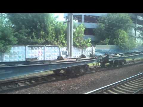 Поезд 137 Москва-  Саратов:  Отправление с Москвы