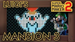 Super Mario Maker 2 - Luigi's Mansion 3