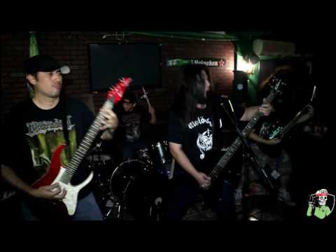 NECROPSY EN VIVO SHOW COMPLETO DE METAL IS MY BATTLE FLAG EN LORD PUB CD OBREGON SONORA