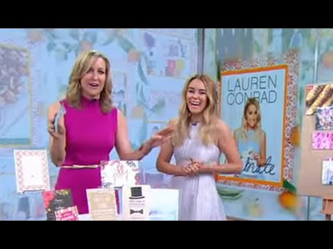 Lauren Conrad Talks 'Celebrate'