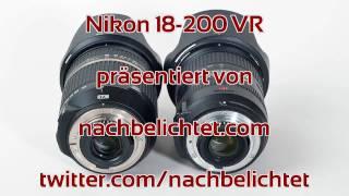 Objektivtest: Tamron AF 18-270 mm F/3.5-6.3 XR Di II VC LD vs. Nikon 18-200 VR
