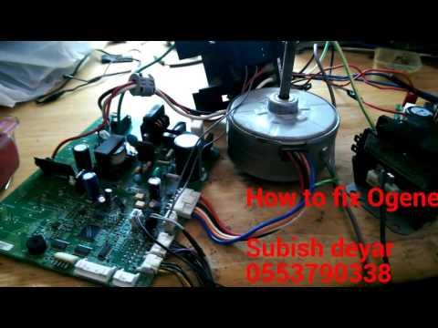 Ogeneral pcb board 3 ton split ac wiring