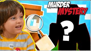 Minecraft'ta Katil Kim Oynadık Dedektif Olduk.