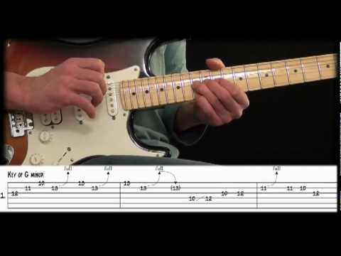 Guitar Rock Lick Lesson: Minor Pentatonic Pattern 4 Rock Lick
