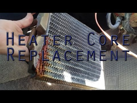 Heater Core Replacement - 1982 Camaro (ThirdGen F-Body) - Shows Heater Core Bypass