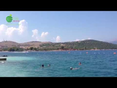 Ksamil Saranda, Albania nice vacation place [HD]