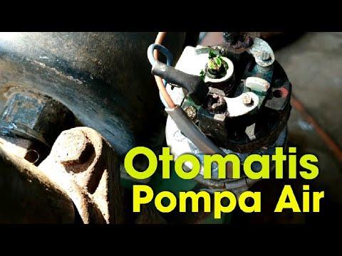 Setting Otomatis Pompa Air Youtube
