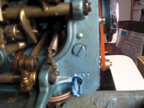 Oiling your old Sewing machine - Part 1 of 3
