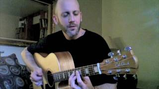 "Adam Rafferty - ""Rock With You"" - Michael Jackson - Solo Fingerstyle Acoustic Guitar"