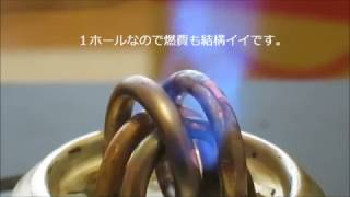 アルコールストーブテスト 01 thumbnail